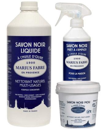 Zwarte zeep Marius Fabre