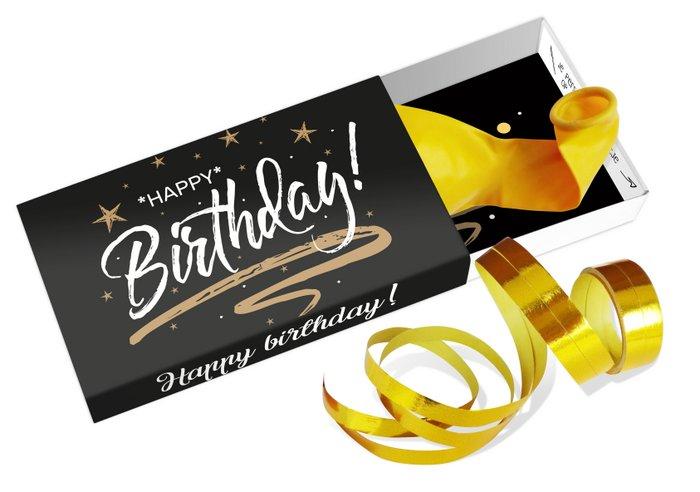 Wensdoosje: happy birthday!